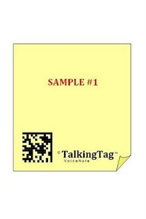 TalkingTag / Talking Tag- screenshot thumbnail