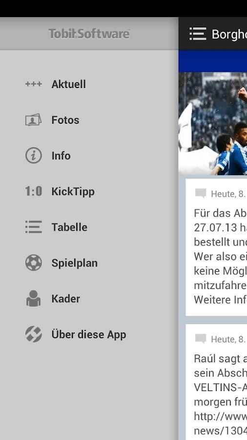 Fanclub Blau-Weiss Borghorst - screenshot