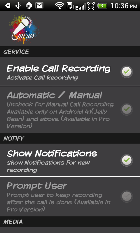 Call Recorder - screenshot