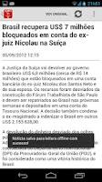 Screenshot of Direito AGORA Notícias (free)
