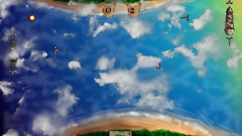 Super Pirate Paddle Battle Screenshot 3