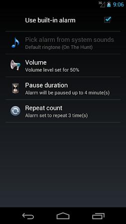 Safe Sleep - Alarm Clock ! 2.56 screenshot 253632