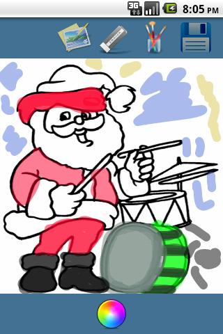 【免費娛樂App】Christmas Coloring 4 Kids App-APP點子