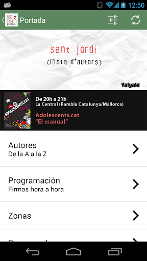 Sant Jordi 2014 - Autores