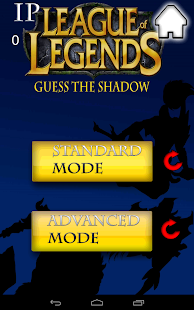 League of legends Guess shadow