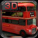 London Bus 3D Parking icon