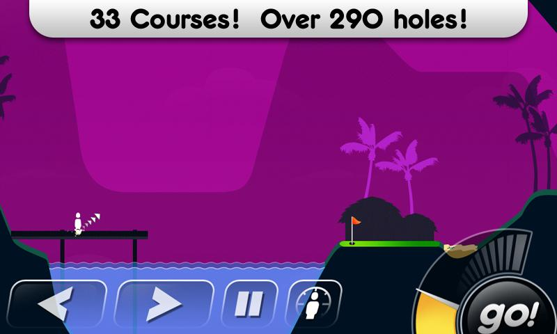 Super Stickman Golf - screenshot