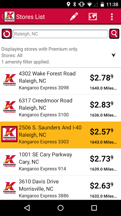 Kangaroo Express - screenshot