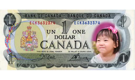 Me on Money - CAD