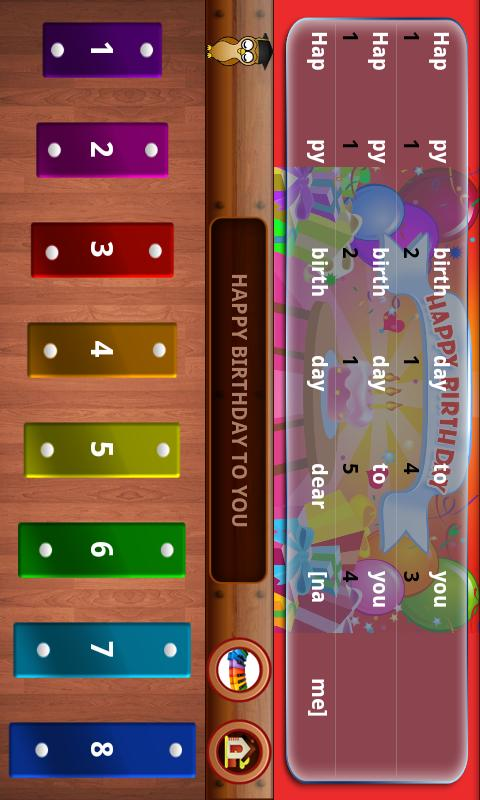 Nursery Rhymes PianoTunes Lite - screenshot