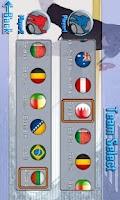 Screenshot of Finger Ice Hockey