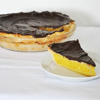 Lemon Chocolate Pie