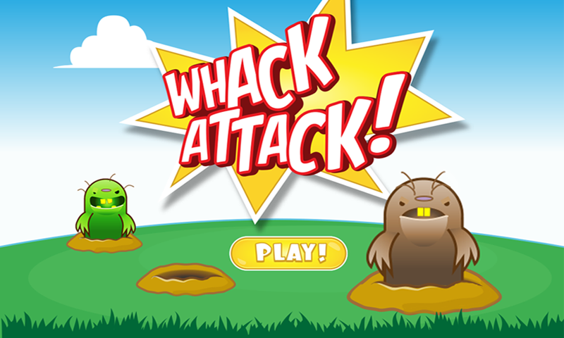 Whack Attack! Fun War on Moles- screenshot