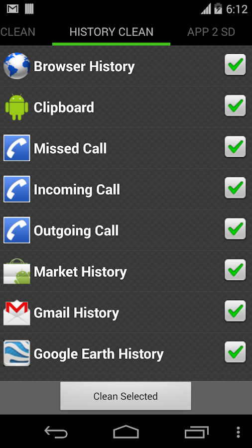 System Cleaner for Android - screenshot