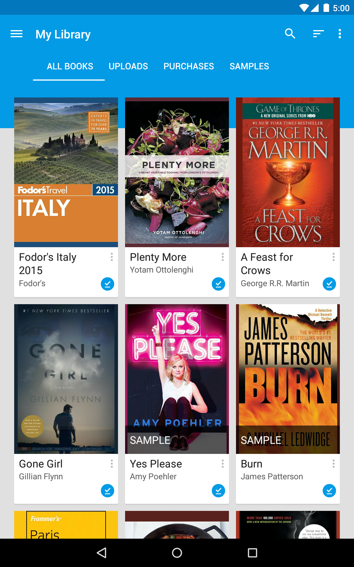 Google Play Books screenshot #16