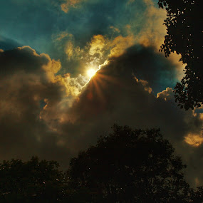 The Hiding Sun by Shahrul A Hamid - Landscapes Cloud Formations (  )