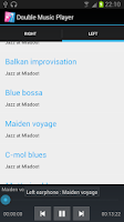 Screenshot of Double Music Player