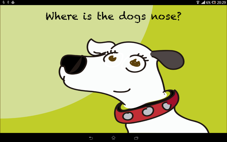 Where is my nose? - screenshot