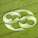 Crop Circles  Wallpaper logo