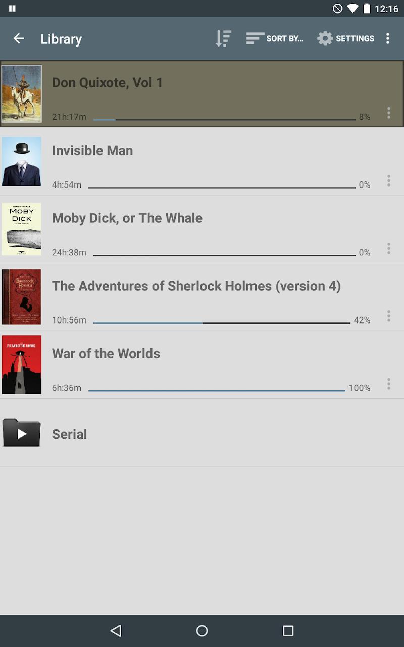 Listen Audiobook Player Screenshot 4