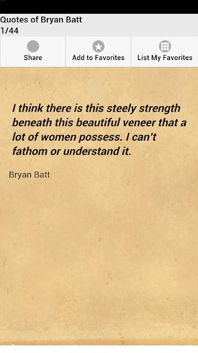 Quotes of Bryan Batt