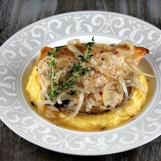 Slow Cooker Garlic Chicken.