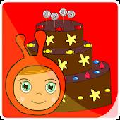 Game cake the moon of Ninou