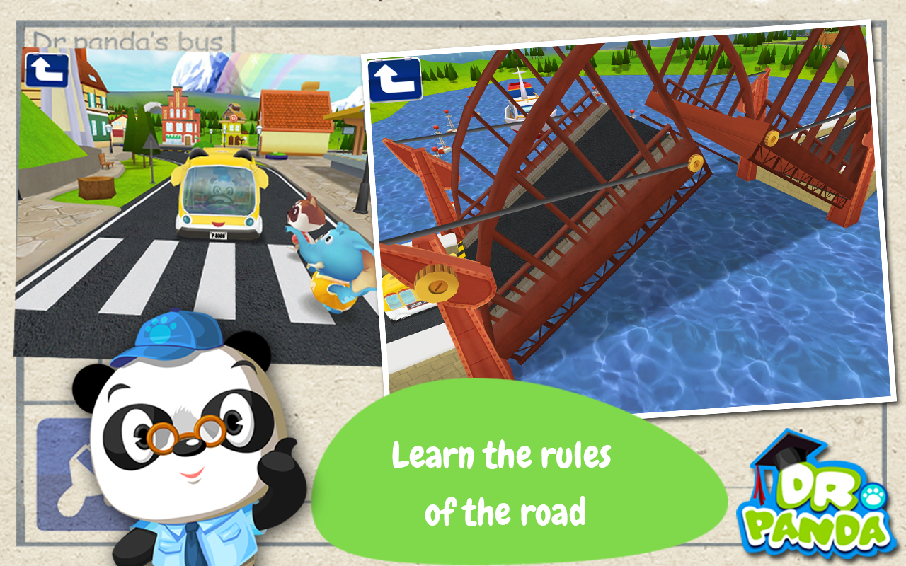Dr. Panda Bus Driver- screenshot