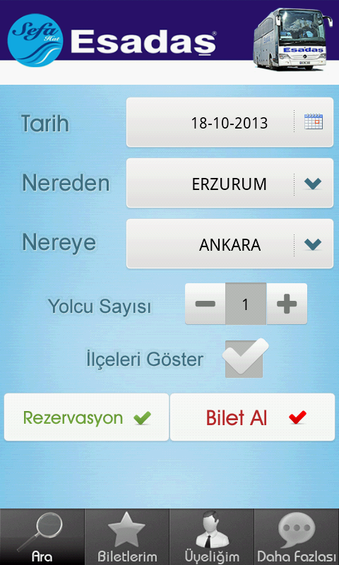 Esadaş Turizm- screenshot