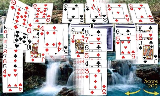 Solitaire 3D (old) - screenshot thumbnail