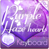 Purple Haze Keyboard Skin