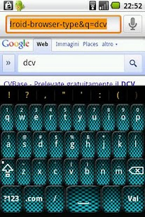 Aqua Carbon Keyboard Skin- screenshot thumbnail