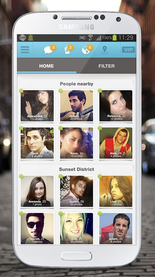 Duego - Chat, flirt, have fun! - screenshot