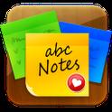 abcNotes: стикеры напоминалки icon