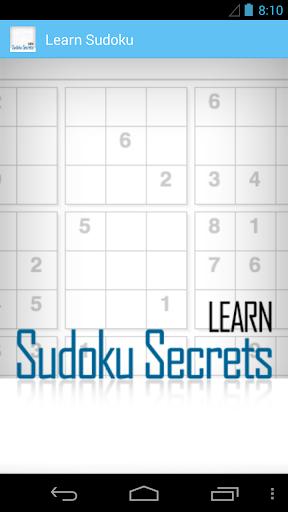 Learn Sudoku Secrets