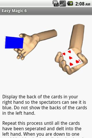 Magic Card Tricks- screenshot