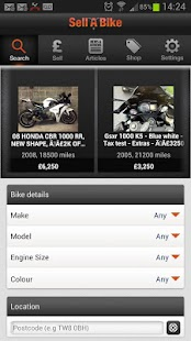 Sell A Bike - screenshot thumbnail