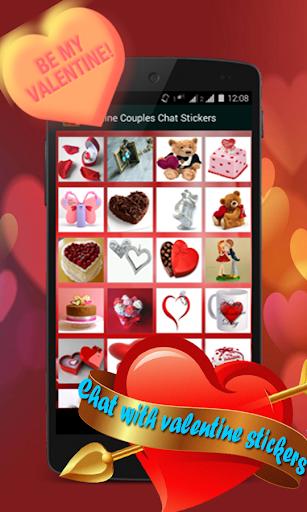 【免費社交App】Valentine Stickers-APP點子