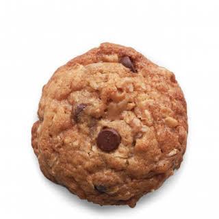 Chocolate-Toffee-Oatmeal Drop Cookies.