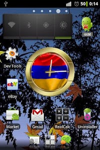 Armenia flag clocks screenshot 1