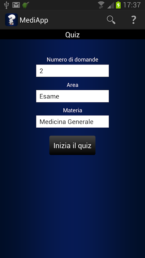 MediApp- screenshot