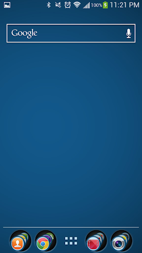 Blue Theme Nova 5.0 screenshots 1