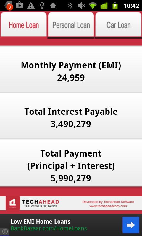 Home Credit Emi Calculator For Mobile