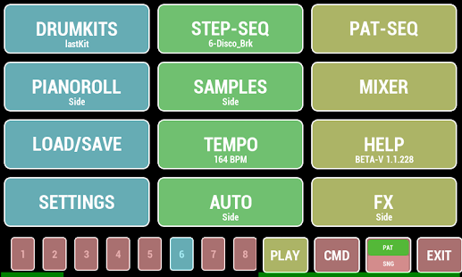 Cadeli Drum Machine- screenshot thumbnail
