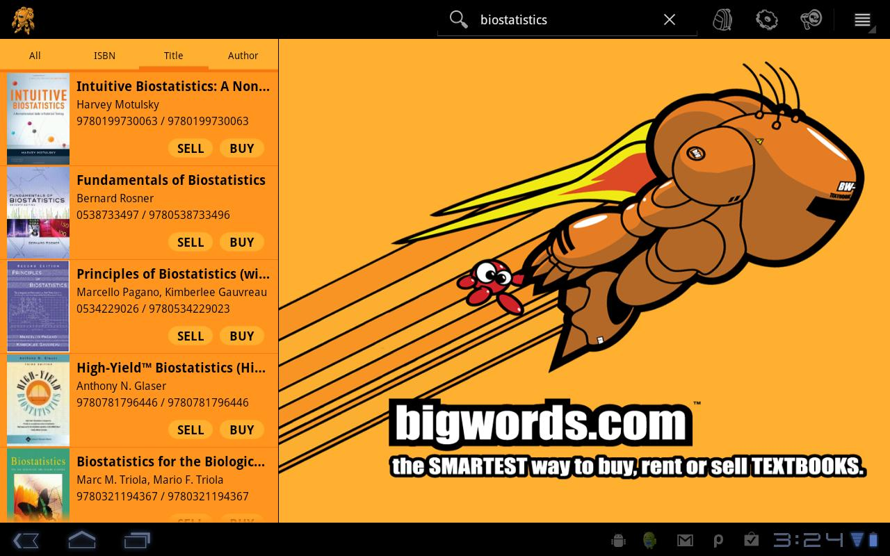 BIGWORDS.com - screenshot