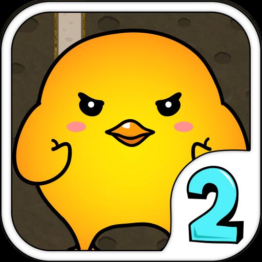 天降奇雞~咕(TLJ Angry Chicken 2) LOGO-APP點子