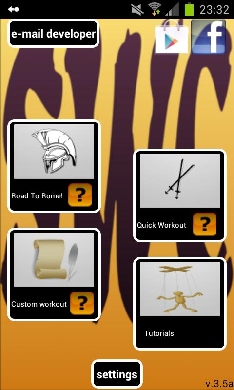 Spartacus Workout Collection - screenshot