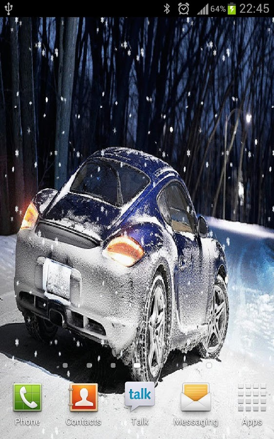 Snow Car - screenshot
