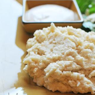 Greek Mashed Cauliflower.