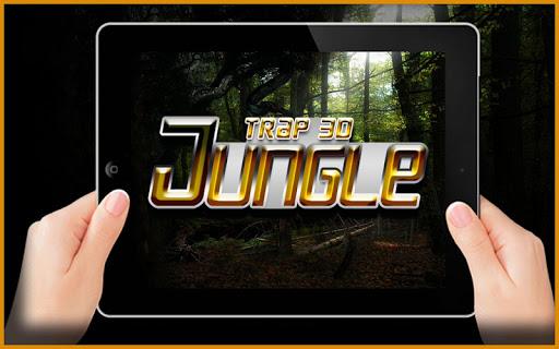 3Dジャングルのトラップ: